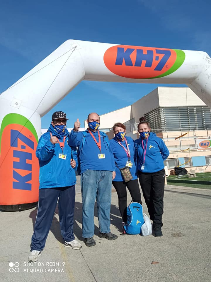 Equip Voluntari. Foto Voluntarios Ibiza